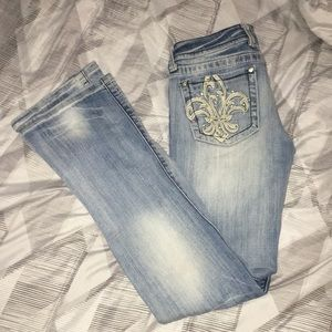 miss Me jeans size 28 light wash